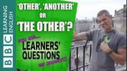 Other, another or the other? - Learners' Questions