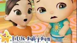 Boo Boo Song   NEW SONG   Nursery Rhyme & Kids Song -ABCs and 123s   Little Baby Bum