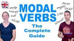 Complete Guide to English Modal Verbs - English Grammar Lesson