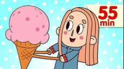 The Ice Cream Song   + More Kids Songs   Super Simple Songs