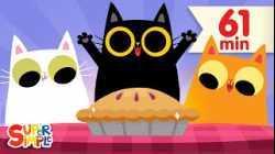 Three Little Kittens   + More Nursery Rhymes & Kids Songs   Super Simple Songs