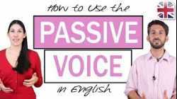 How to Use the Passive Voice in English - English Grammar Lesson