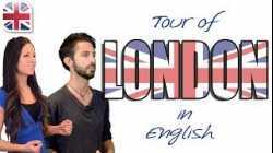 English Travel Dialogue - Tour of London