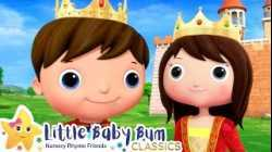 Princess and The Pea Song - Nursery Rhyme & Kids Song - ABCs and 123s   Little Baby Bum