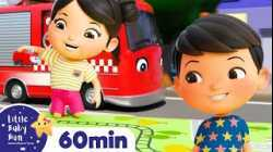 The Bus, Tractor and Car Song   +More Nursery Rhymes & Kids Songs   ABCs and 123s   Little Baby Bum