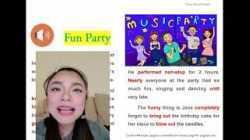 ฝึกอ่านภาษาอังกฤษง่ายๆกับเรื่องสั้นพร้อมคำแปล ? Fun Party ?