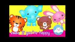 If You're Happy and You Know It | Nursery Rhyme | หากว่าเรากำลังสบาย | ภาษาอังกฤษ by KidsOnCloud
