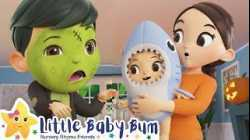 Baby Shark Dance - Halloween | Nursery Rhymes & Kids Songs - ABCs and 123s | Little Baby Bum