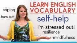 Learn English Vocabulary: SELF-HELP... life is hard!