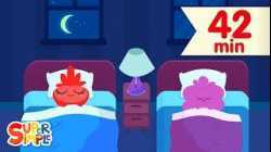 Bedtime Routine Songs | Kids Songs | Super Simple Songs