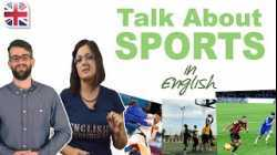 Talk About Sports in English - Improve Spoken English Conversation