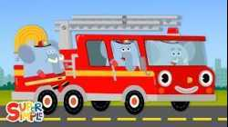 Here Comes The Fire Truck   Super Simple Songs