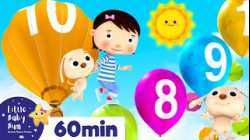Learn to Count 1-10   +More Nursery Rhymes & Kids Songs   ABCs and 123s   Little Baby Bum