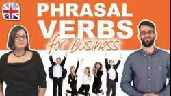 24 Phrasal Verbs for Business - Business English Phrasal Verbs Lesson