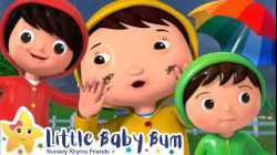 Splashing in Puddles | +More Nursery Rhymes and Kids Songs - ABCs and 123s | Little Baby Bum