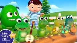 5 Little Speckled Frogs   Little Baby Bum - Brand New Nursery Rhymes for Kids