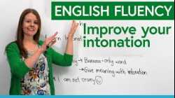 English Fluency: Improve your INTONATION with the Banana Game