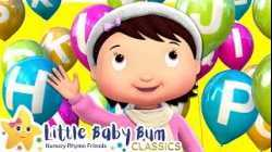 ABCs Balloons Song - Nursery Rhymes & Kids Songs - Little Baby Bum   ABCs and 123s