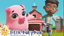 Old Mcdonalds Had A Farm Song - Nursery Rhyme & Kids Song - ABCs and 123s   Little Baby Bum