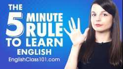 The 5-Minute Rule to English Learning Success