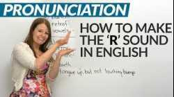 How to pronounce the 'R' sound in English: Tips & Practice
