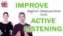 Active Listening in English - Improve English Communication Skills