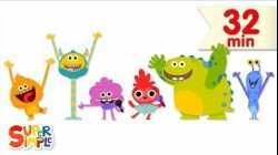 Super Simple Songs featuring the Super Simple Monsters!