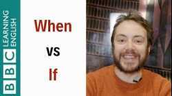 When vs If - English In A Minute