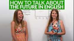 How to talk about the future in English with 'WILL'