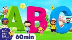 ABC Song - Learn Phonics | +More Nursery Rhymes | ABCs and 123s | Little Baby Bum