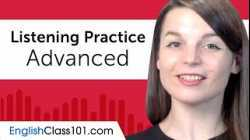 Advanced Listening Comprehension Practice for English Conversations