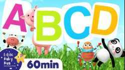Learn ABC - The Alphabet Song   +More Nursery Rhymes & Kids Songs   ABCs and 123s   Little Baby Bum
