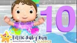 Ten Little Babies Water Park Song - Nursery Rhymes & Kids Songs - Little Baby Bum   ABCs and 123s
