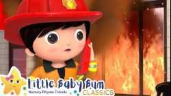 FIRE TRUCK Song! +More Nursery Rhymes and Kids Songs - ABCs and 123s | Little Baby Bum