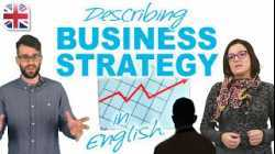 Describing Business Strategy, Markets and Products - Business English Lesson